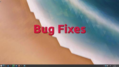 KDE corrige muchos fallos