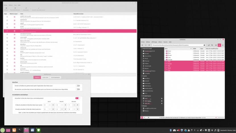 Linux Mint experimenta con el rosa
