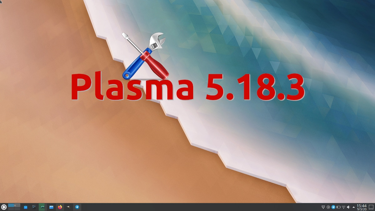 Plasma 5.18.3