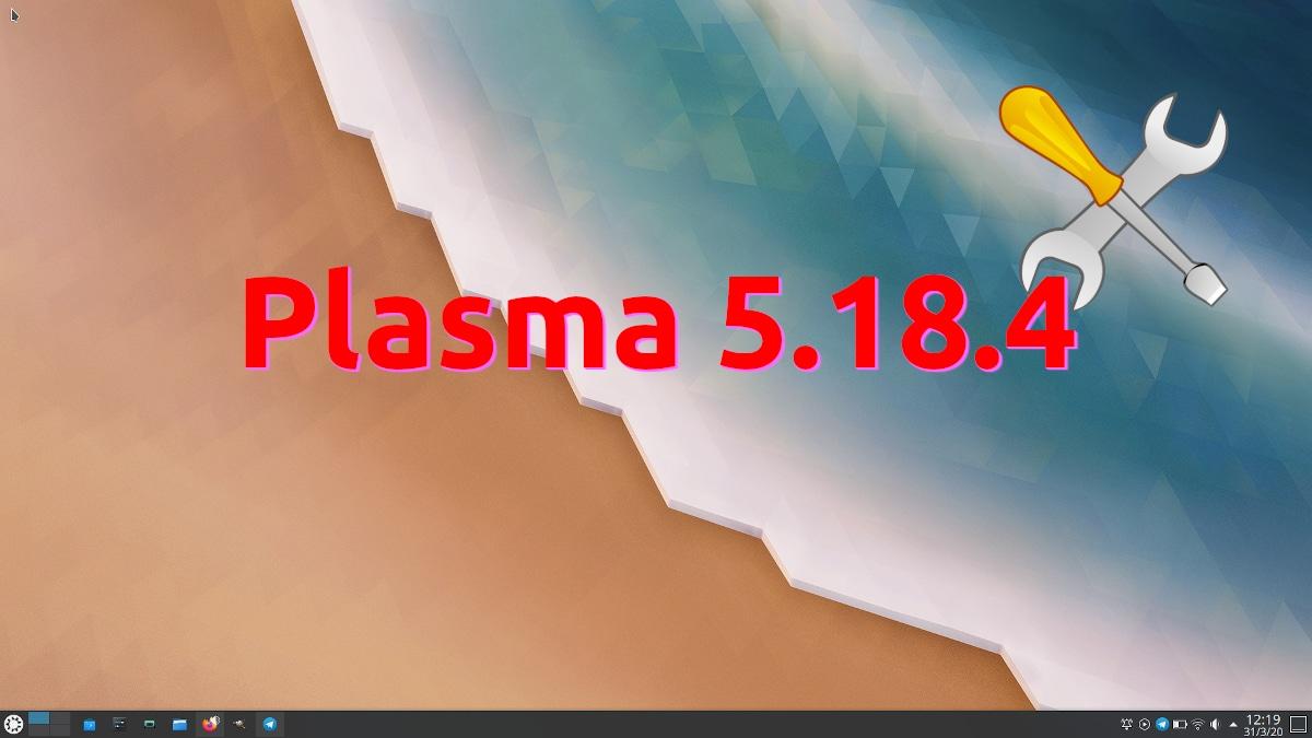 Plasma 5.18.4