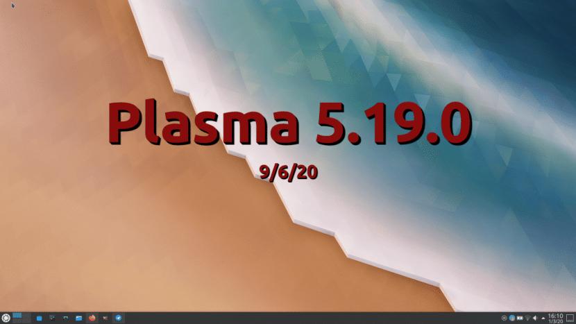 KDE Plasma 5.19.0
