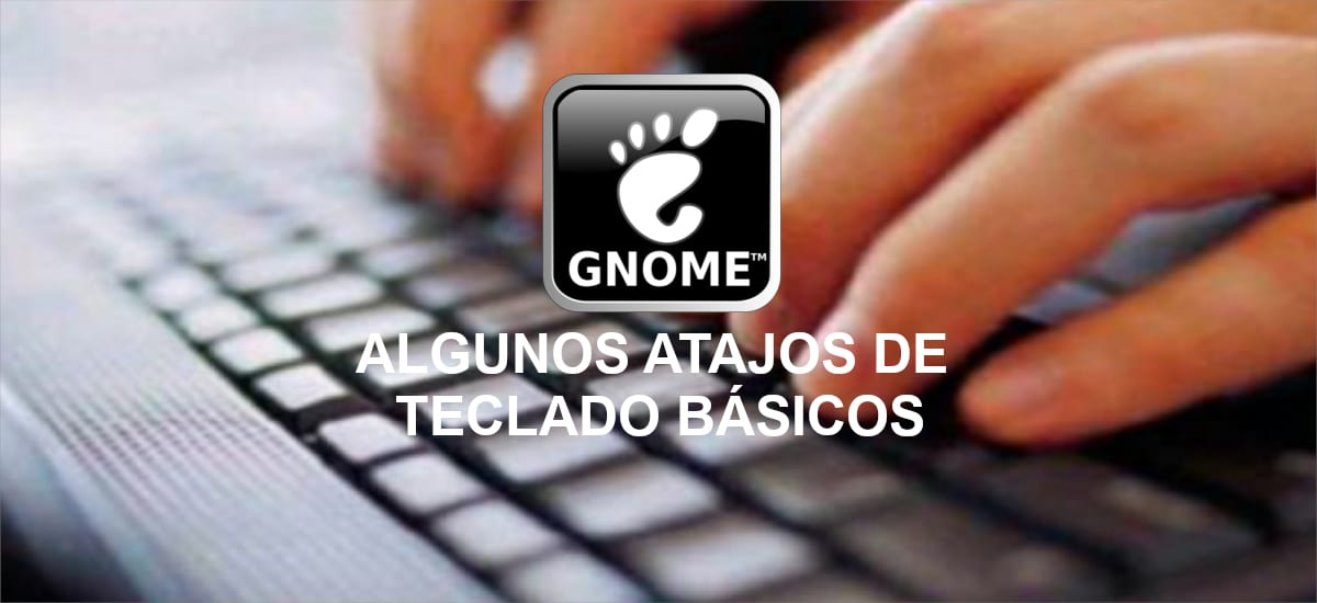 about atajos de teclado para Gnome