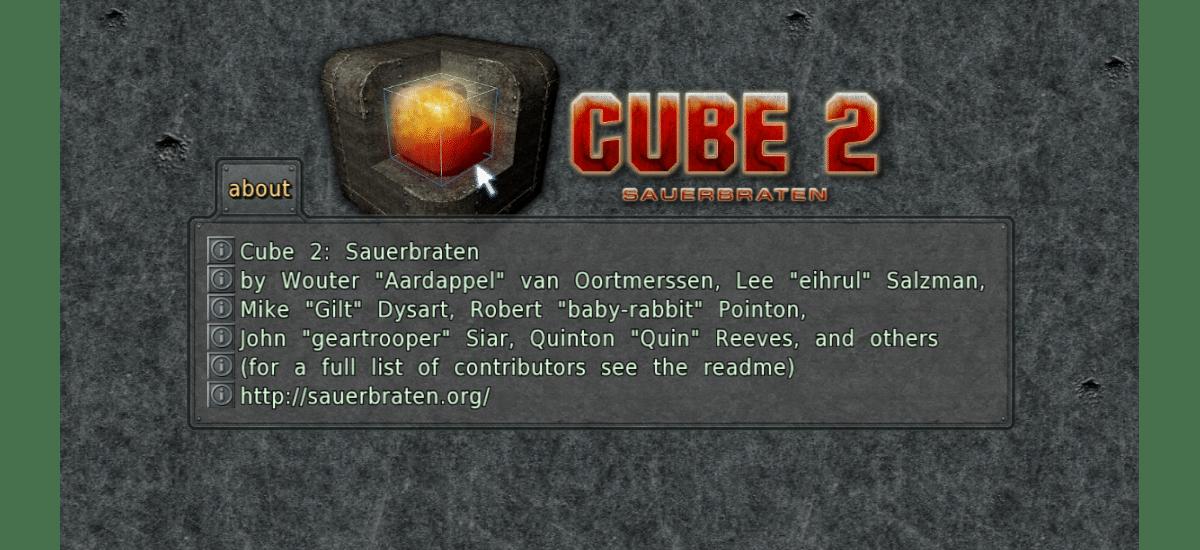 about cube 2 Sauerbraten