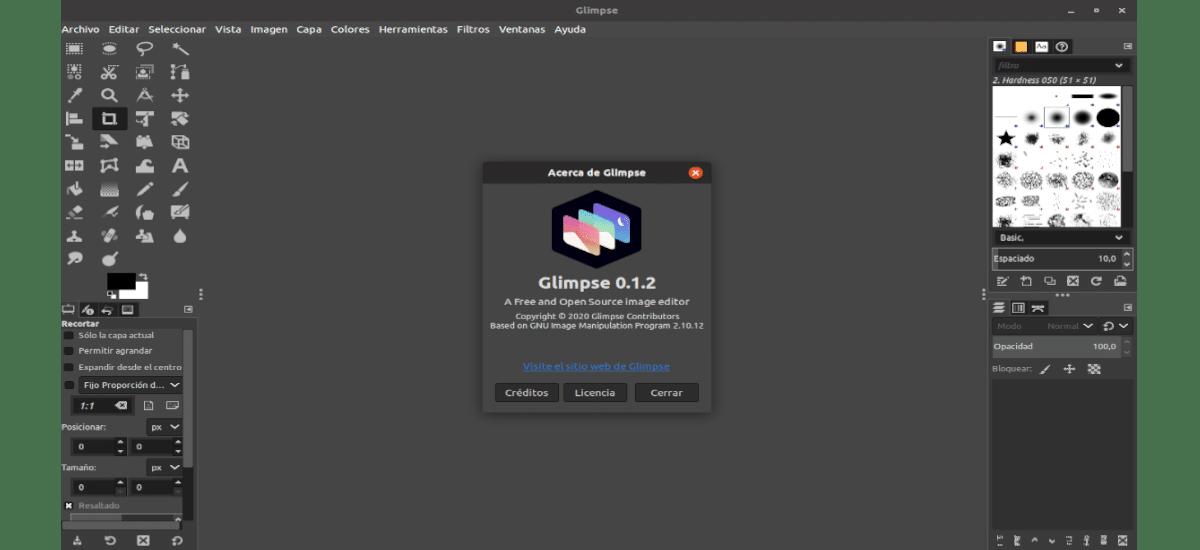 about glimpse 0.1.2