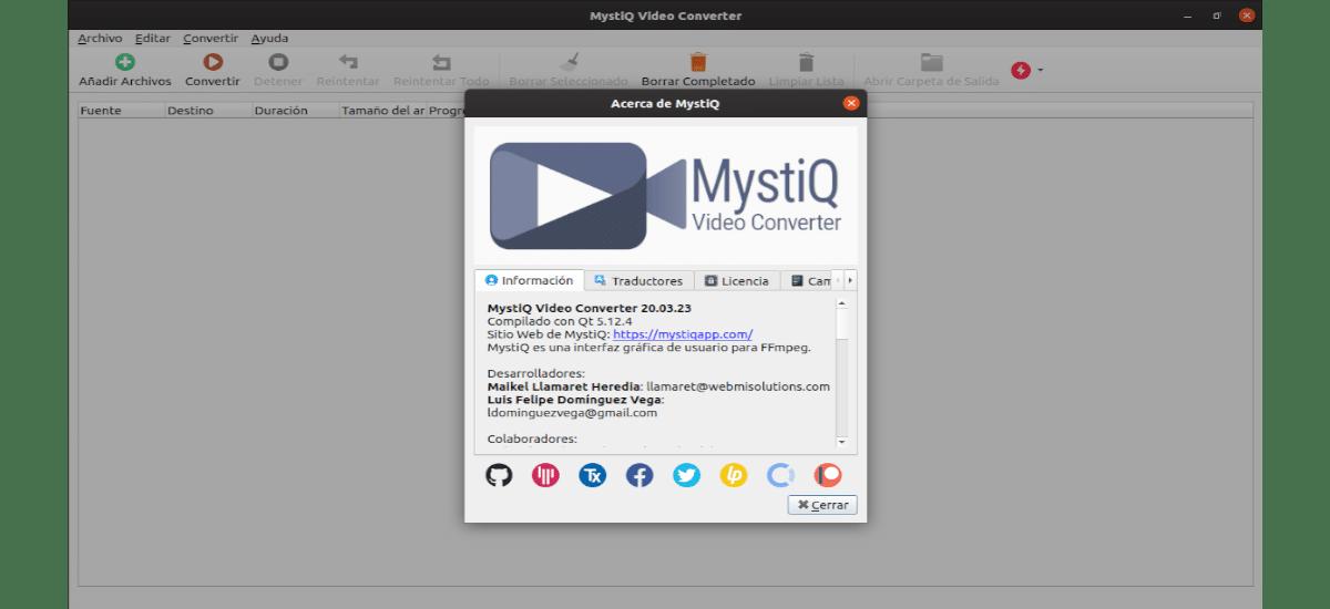 about Mystiq Video Converter