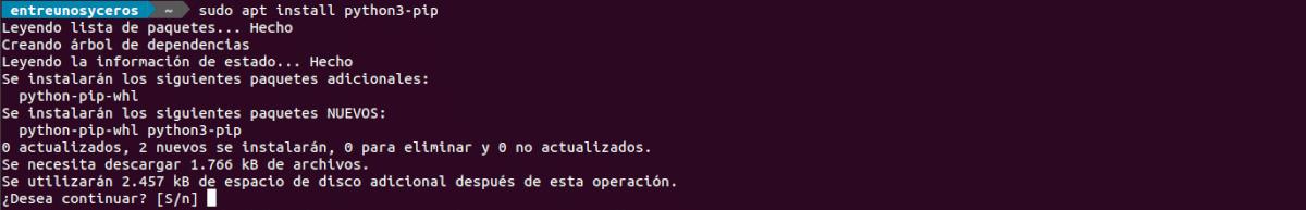 instalar Python3