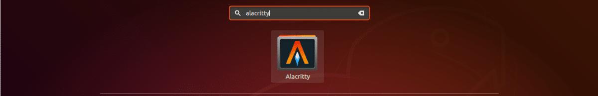 lanzador de Alacritty