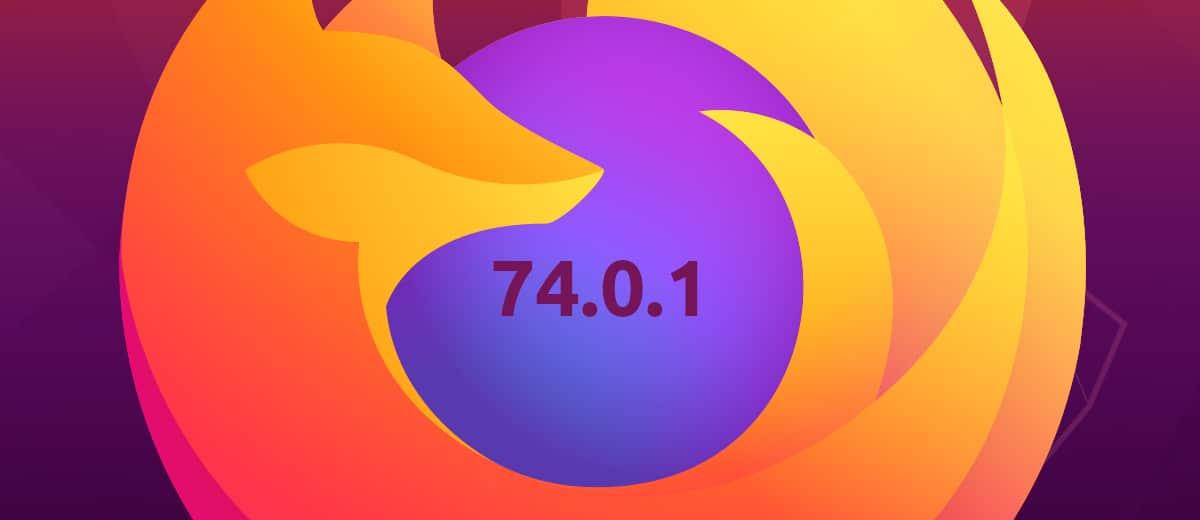 Firefox 74.0.1
