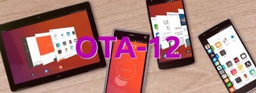 OTA-12 de Ubuntu Touch