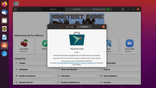 Ubuntu 20.04 Snap Store