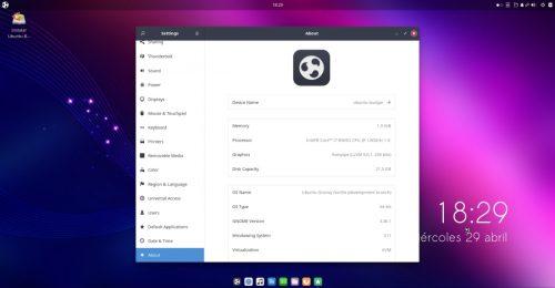 Ubuntu Budgie 20.10 Groovy Gorilla Daily Build