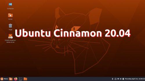 Ubuntu Cinnamon 20.04
