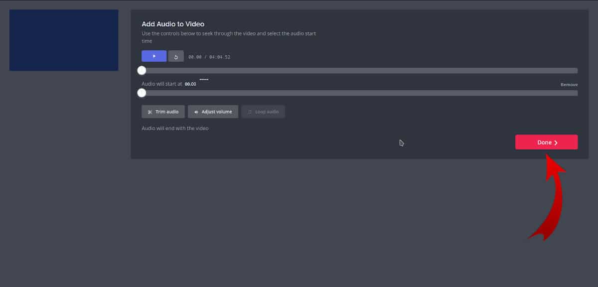 Unir audio y vídeo 5