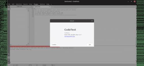 about CudaText