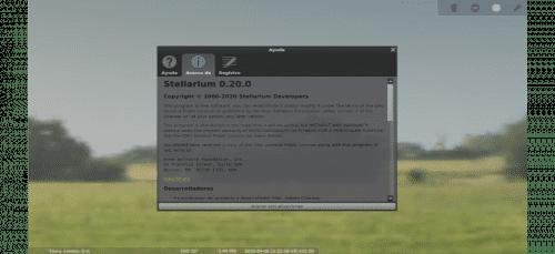 about stellarium 0.20