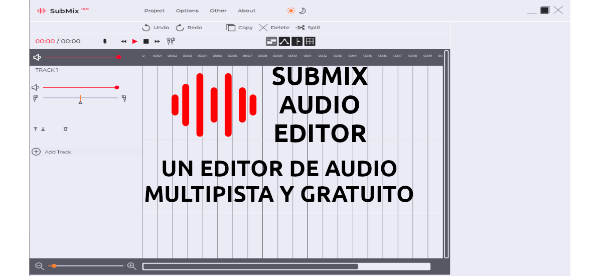 About Submix Audio Editor