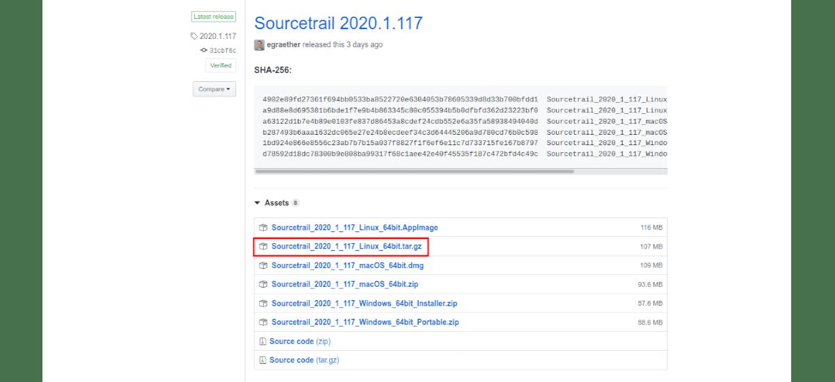 descargar instalador sourcetrail