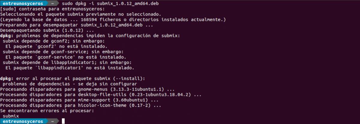 instalar submix audio editor .deb