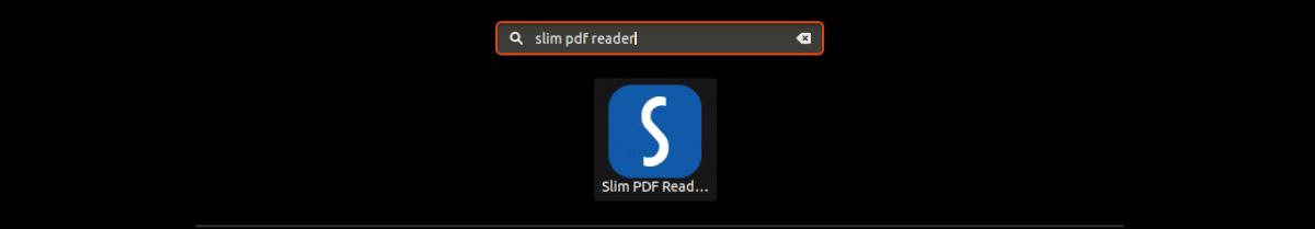lanzador de Slim PDF Reader