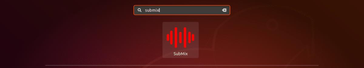 Lanzador de Submix Audio Editor