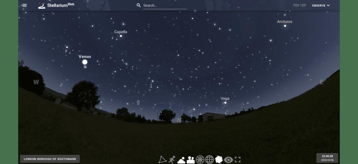 StellariumWeb
