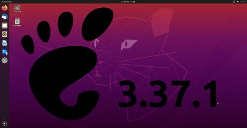 GNOME 3.37.1