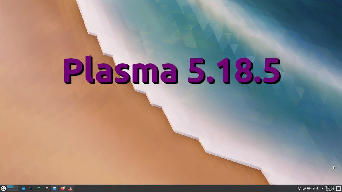 Plasma 5.18.5