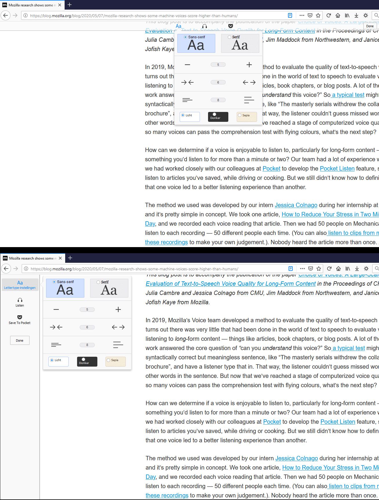 Mozilla fez alterações importantes no Firefox