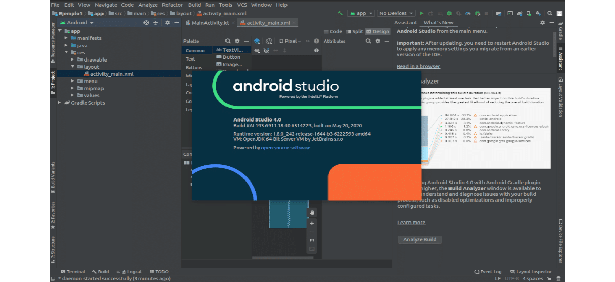About Android Studio 4.X
