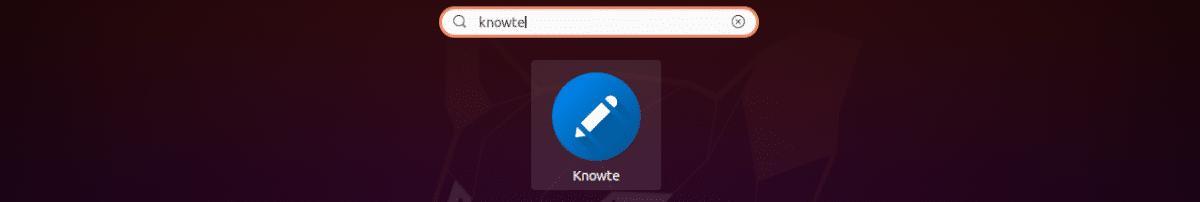 lanzador Knowte