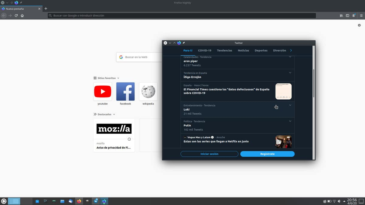 App de Firefox