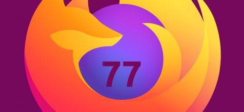 Firefox 77