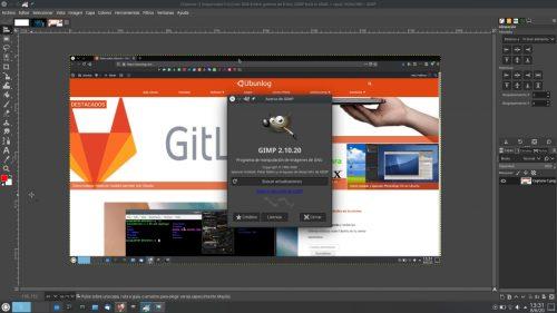 GIMP 20.10.20