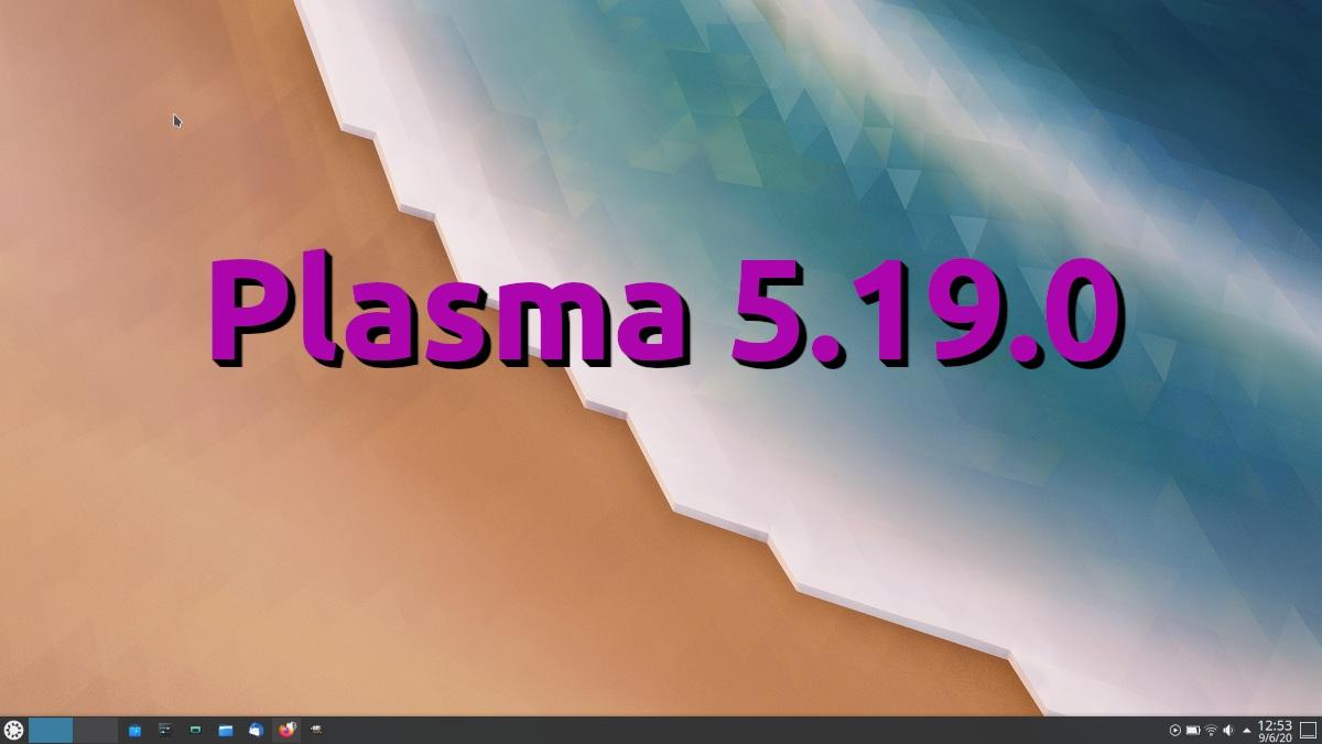 Plasma 5.19.0