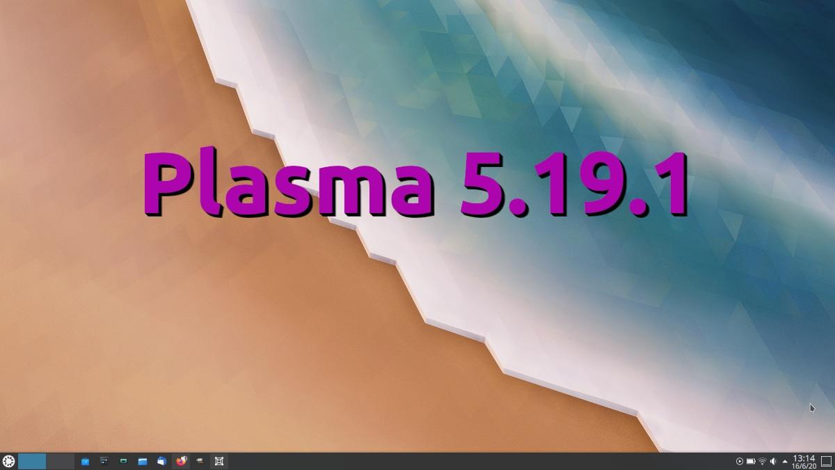Plasma 5.19.1