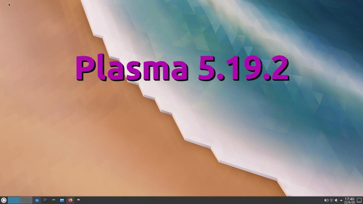 Plasma 5.19.2