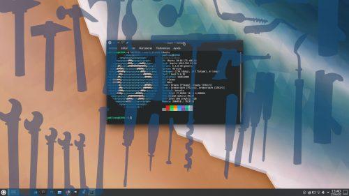 Reparando el escritorio KDE