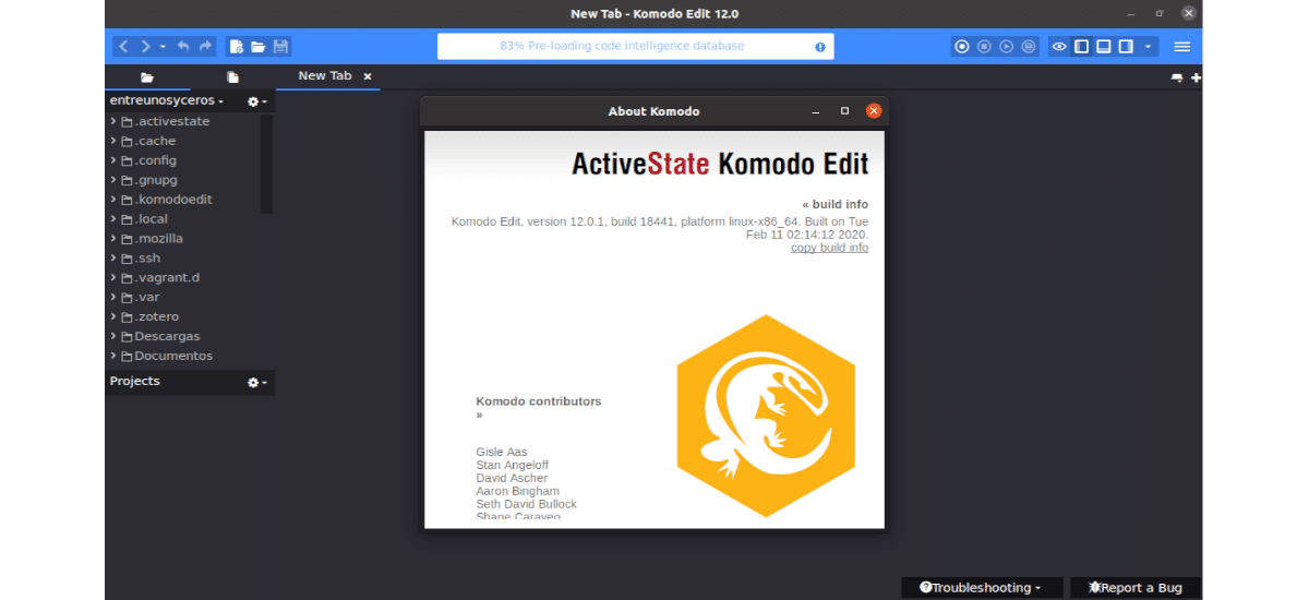 about Komodo Edit 12