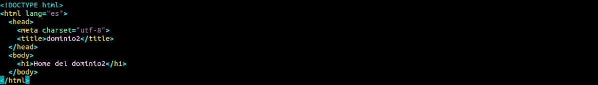 home código dominio2