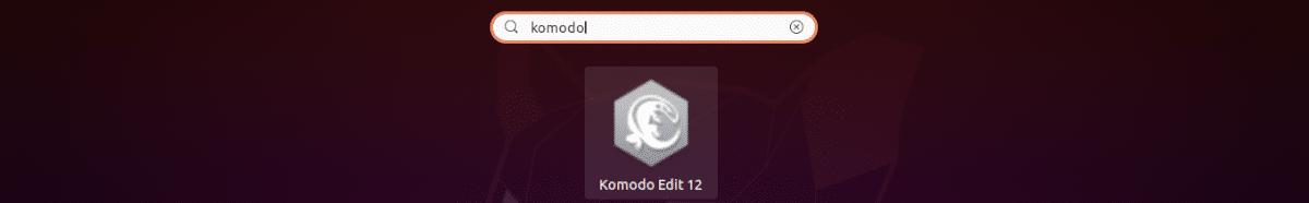 lanzador de Komodo Editi 12
