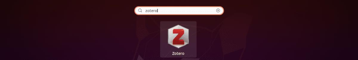 lanzador zotero en ubuntu 20.04