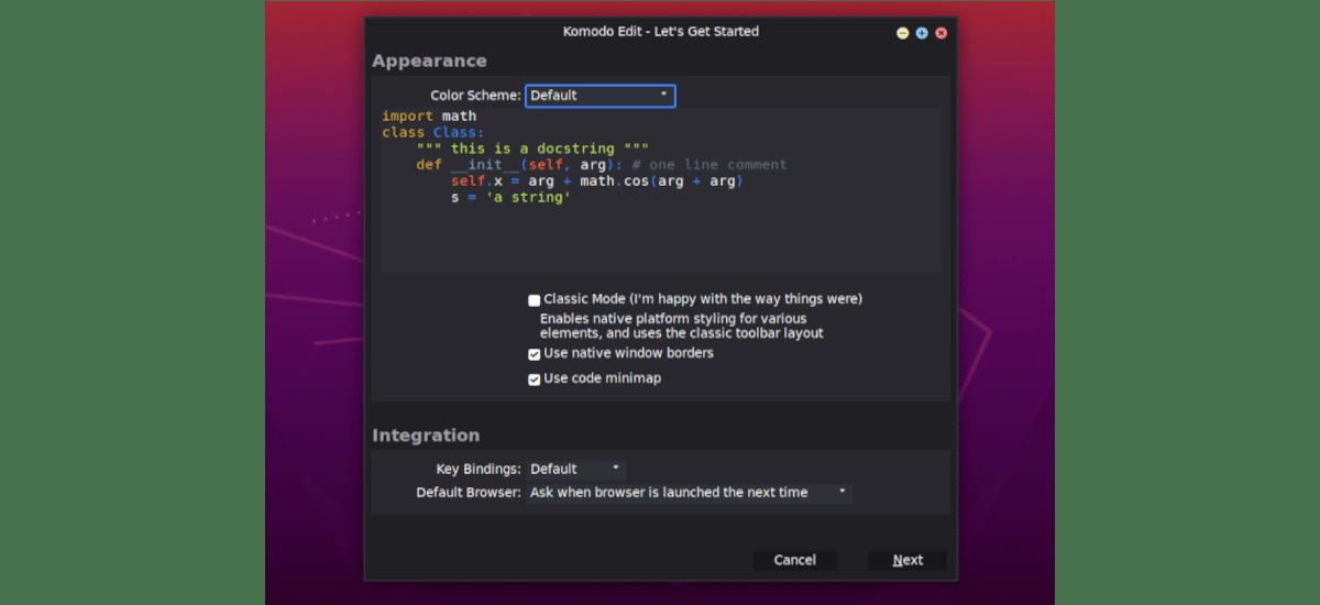personalización de Komodo Edit 12