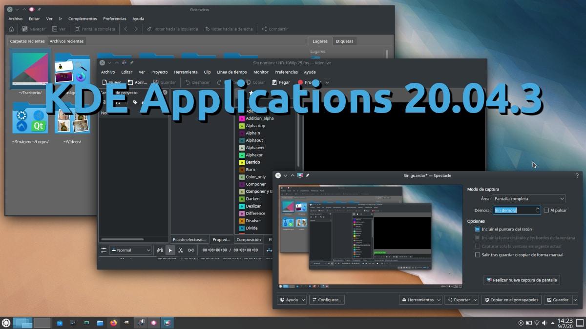 KDE Applications 20.04.3