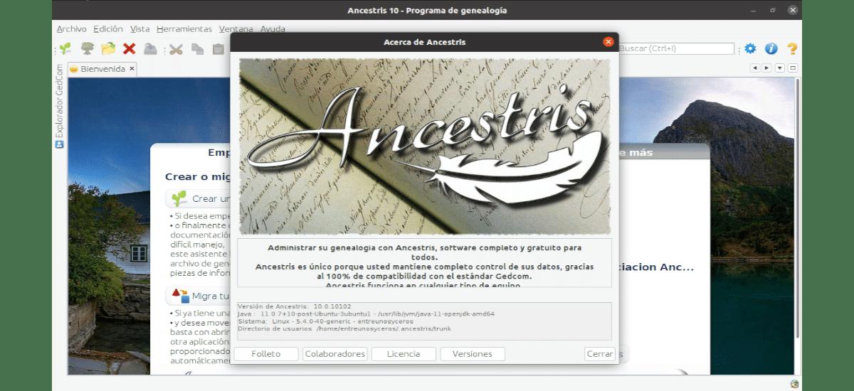 about ancestris