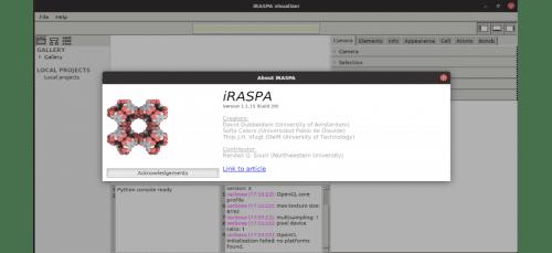 about iRASPA