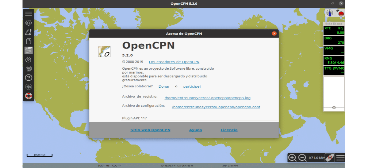 about OpenCPN