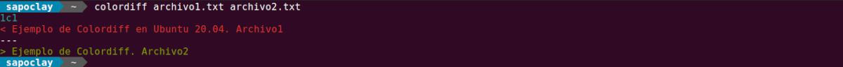 colordiff funcionando