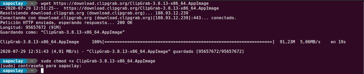descargar clipgrab como appimage