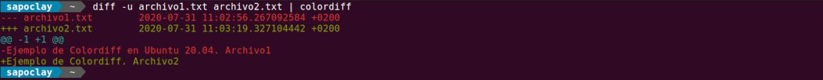 diff tubería colordiff