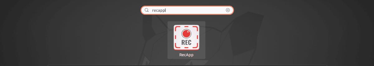 lanzador RecApp
